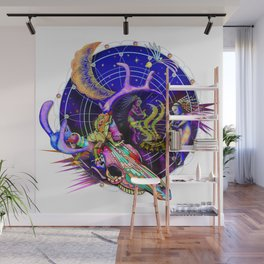Lizard at the Dance Wall Mural