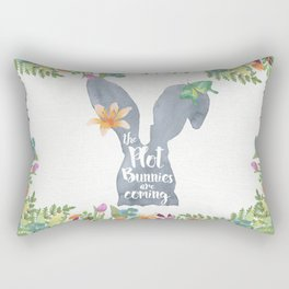 Plot Bunnies Rectangular Pillow