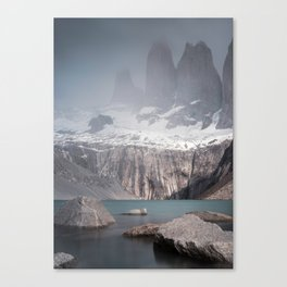 Three Towers, Chile Canvas Print