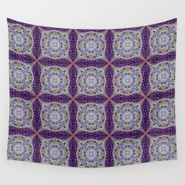 Of Purple and Gold Wall Tapestry