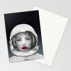 Space Lady Stationery Cards