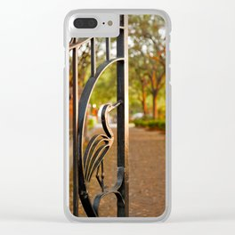 Heron Gate Clear iPhone Case