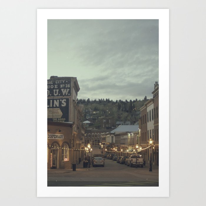 Central City, CO Art Print