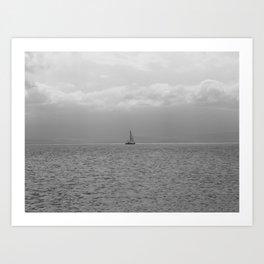 Amongst the Sea Art Print