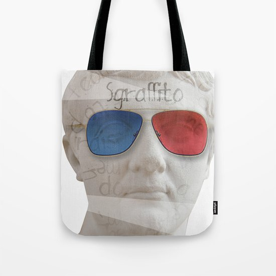 scratch 3D Tote Bag