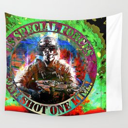 Special Forces Wall Tapestry