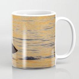 Baby orca sunset fluke Coffee Mug