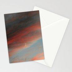 Moon and Sunset Stationery Cards