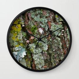 Tiny Mushroom Wall Clock
