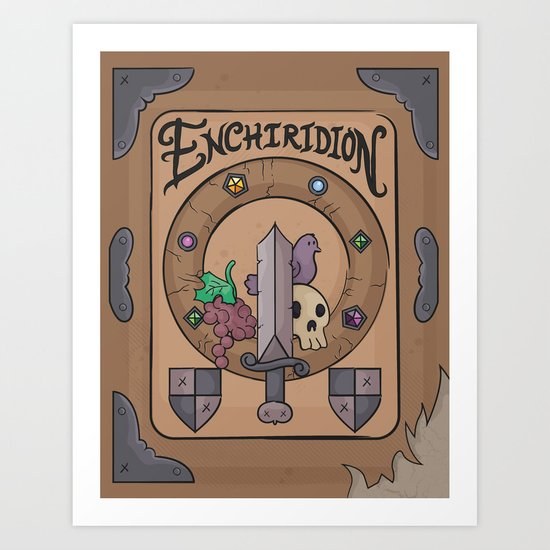 Enchiridion Art Print