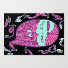 Sleepy Head (boy) Canvas Print