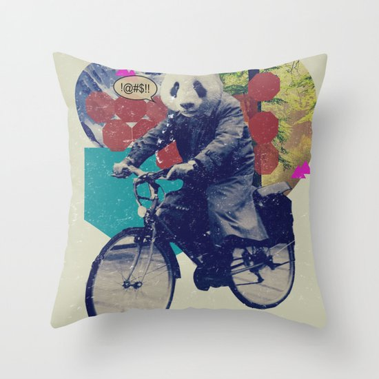 DCXV Throw Pillow