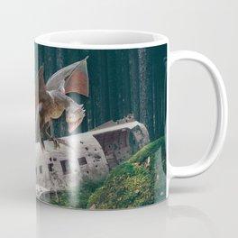 Dragon Plane Crash-Sólheimasandur Plane Crash Coffee Mug