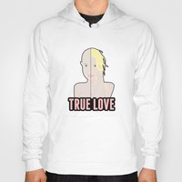 britney spears Hoodies featuring Britney Spears: True Love by Christopher Holden Mathews