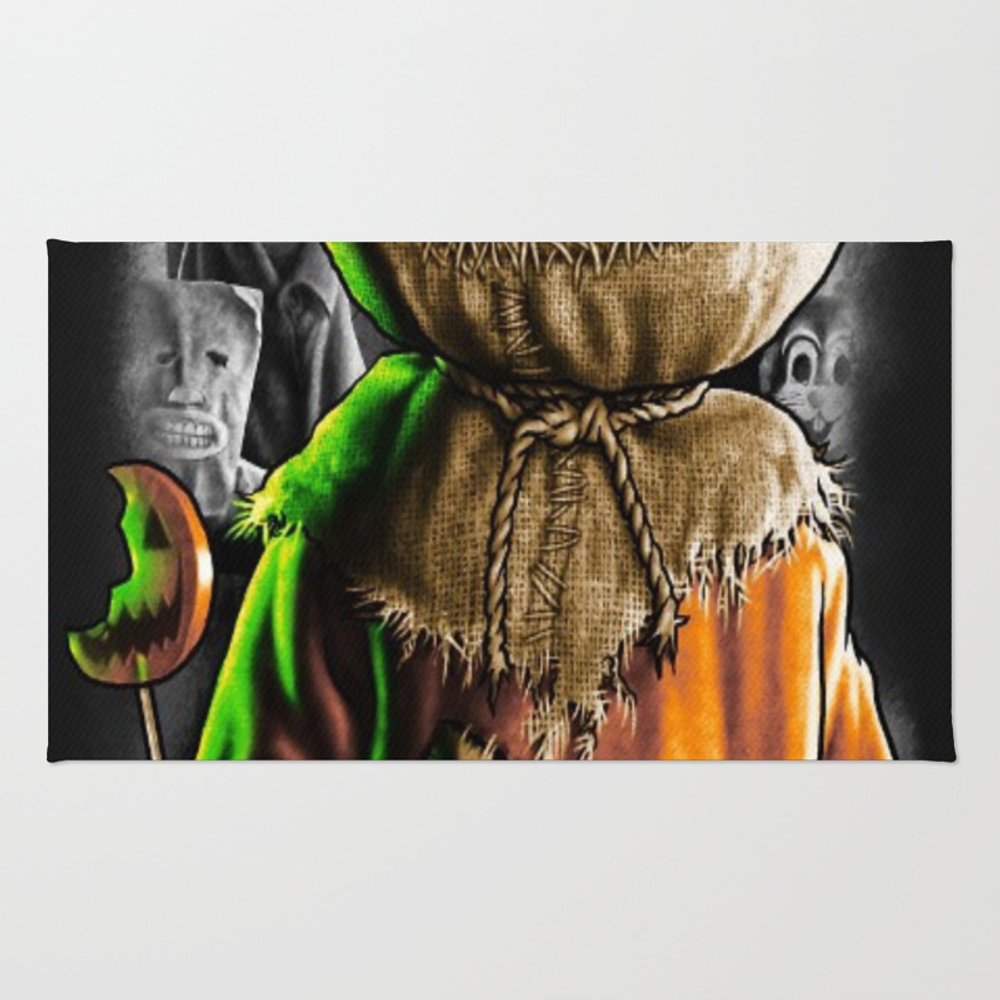 Trick R Treat Rug by Azoutfits93 RUG7892291