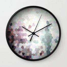 Hex Dust 3 Wall Clock