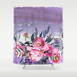 Flowers bouquet 89 Shower Curtain