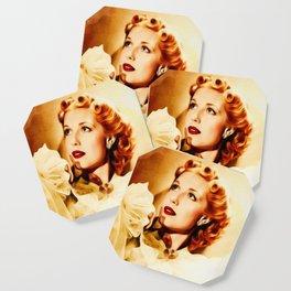 Anita Louise, Vintage Actress Coaster
