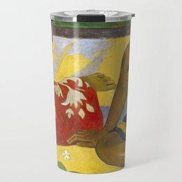 Parau Api / What's news? by Paul Gauguin Travel Mug
