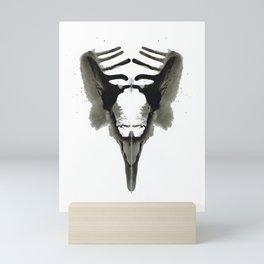 Rorschach Bird Mini Art Print