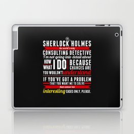 Interesting Cases Only Laptop & iPad Skin