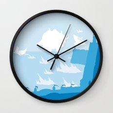 Avatar - Water Book Wall Clock