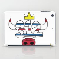 chicago bulls iPad Cases featuring Chicago Pride Bulls by TyRex Creations