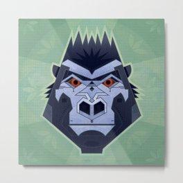 Gorillabot Metal Print
