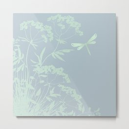 Small idyll ocean Metal Print