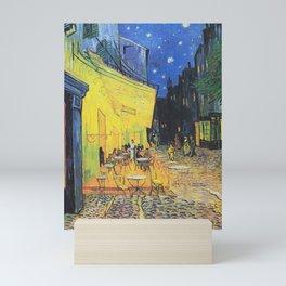 Café Terrace at Night by Vincent van Gogh Mini Art Print