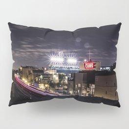 Wrigley Field Long Pillow Sham