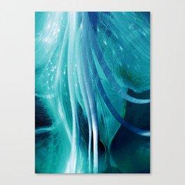 Lily Blue Canvas Print