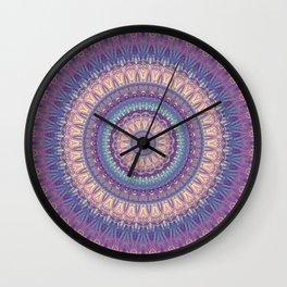 Mandala 517 Wall Clock