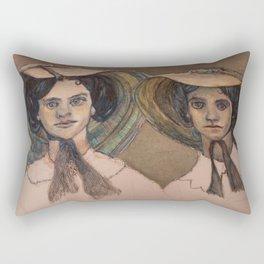 Sunbonnet Sisters Rectangular Pillow