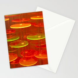 Neon Cookies Stationery Cards