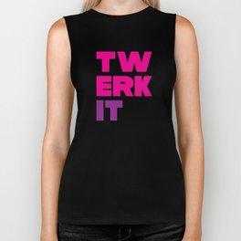 Twerk It Biker Tank