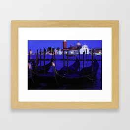 Venice evening Framed Art Print