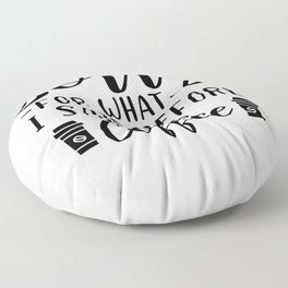 Sorry For What I Said Before Coffee Funny Saying Floor Pillow