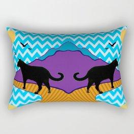 Catscape Rectangular Pillow