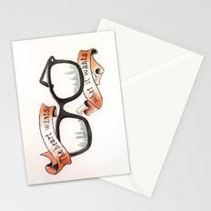 The Heart Wants What It Wants Stationery Cards
