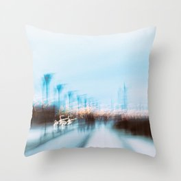 Malmo In Motion 4 Throw Pillow