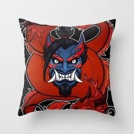 Demonic Archer Throw Pillow