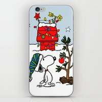 snoopy iPhone & iPod Skins featuring Snoopy 01 by tanduksapi