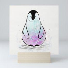 Cute Penguin Mini Art Print