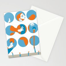 everybody is waiting just for you Stationery Cards