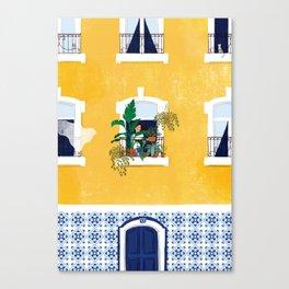 Lisbon girl Canvas Print