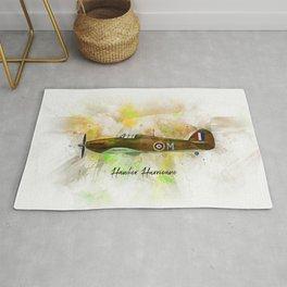 Hawker Hurricane Rug