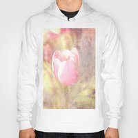 tulip Hoodies featuring Tulip by Elizabeth Wilson Photography