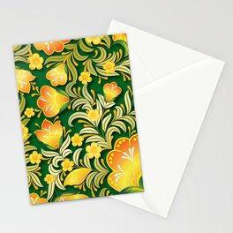 Art Flowers Stationery Cards