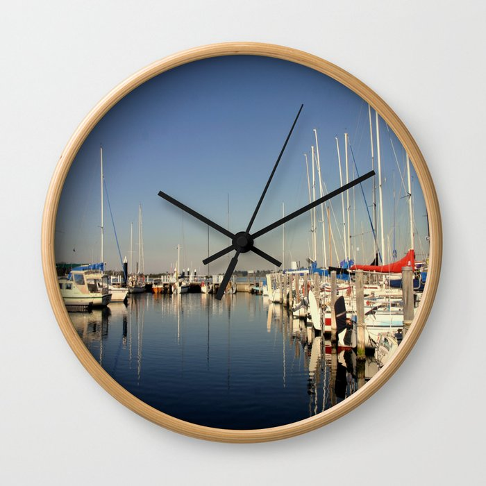 Paynesville Harbour Wall Clock